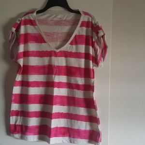 Calvin Klein Performance Quick Dry Striped Top XL